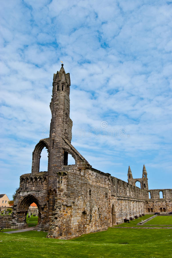 St Andrews cathedral royalty free stock photos