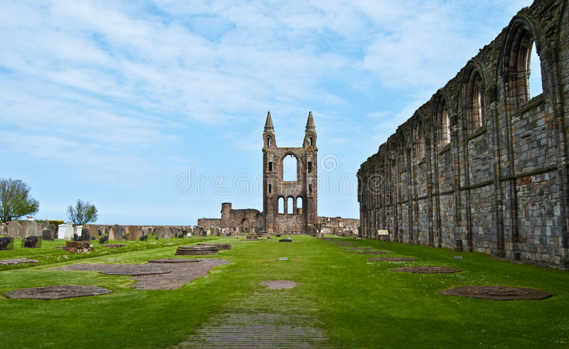 St Andrews cathedral royalty free stock image