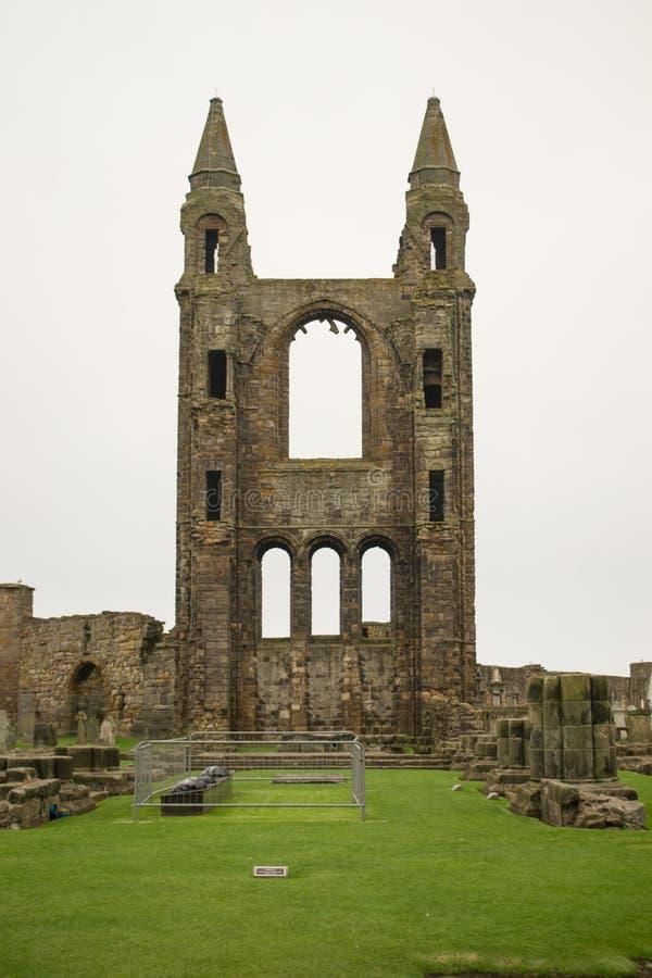 St Andrews Catherdral Priorij stock foto