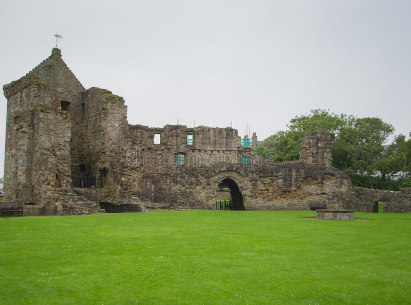 St Andrews Catherdral Ruïnes stock afbeelding