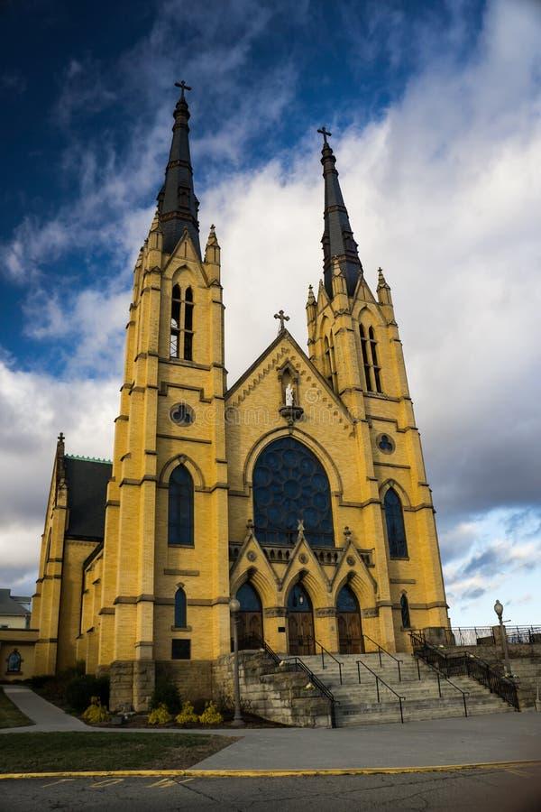 St Andrews Catholic Church Roanoke, Virginia, USA arkivfoton