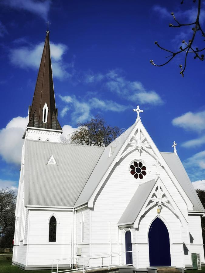 St Andrews Church Cambridge New Zealand NZ royalty free stock photos