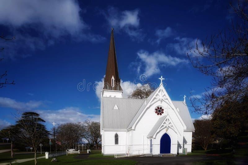 St Andrews Church Cambridge New Zealand NZ royalty free stock image