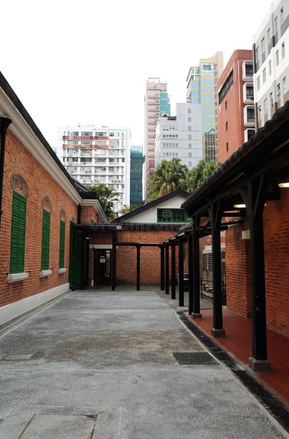 St Andrews Church em Hong Kong foto de stock royalty free