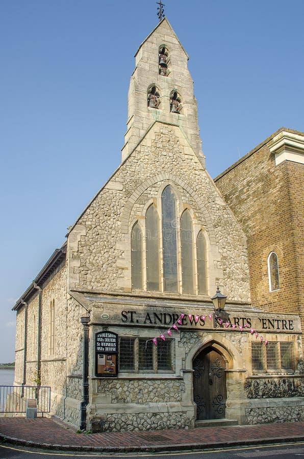 St Andrews Church Gravesend arkivfoto