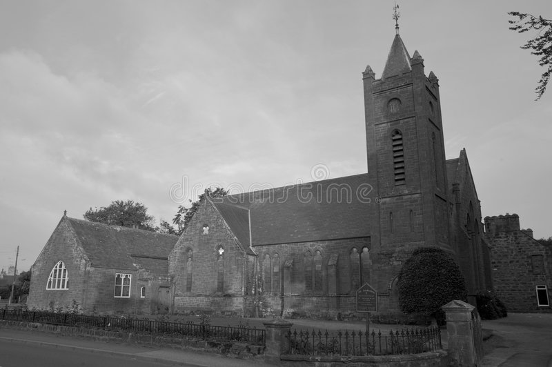 St. Andrews church in Scotland stock photos