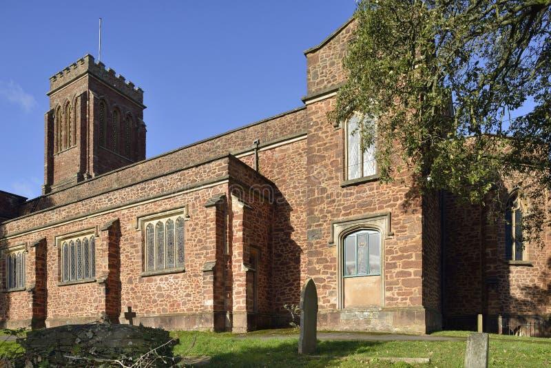 St Andrews Church, Wiveliscombe arkivbild