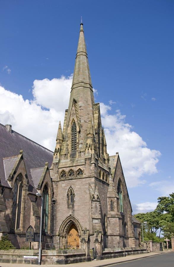 St Andrews de berwick-op-Tweed van de Kerk stock fotografie
