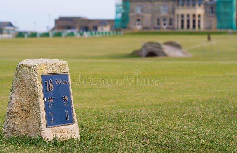 St Andrews golf arkivfoto
