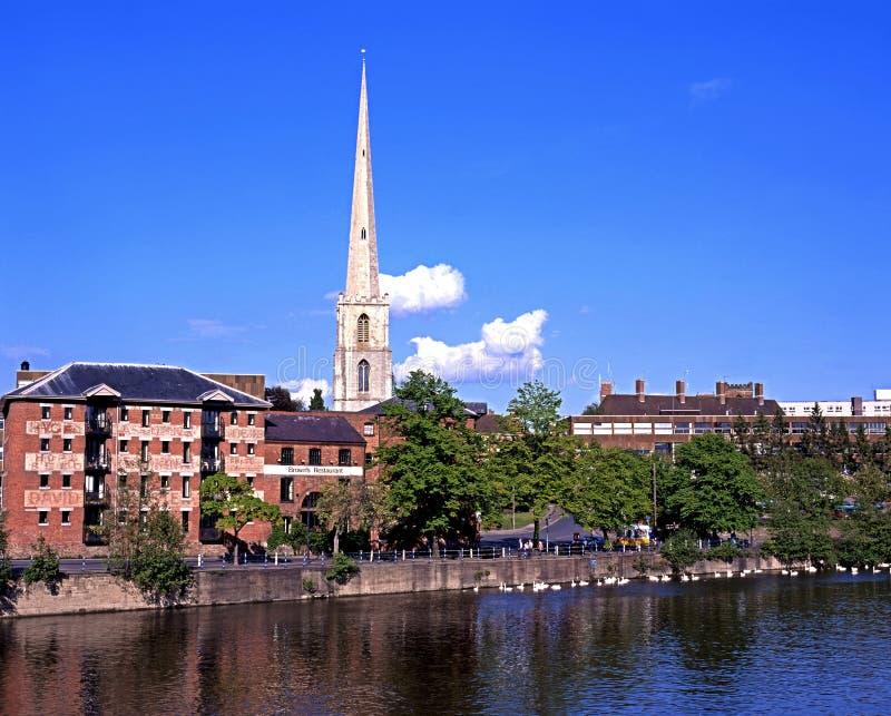 St Andrews iglica, Worcester zdjęcia royalty free