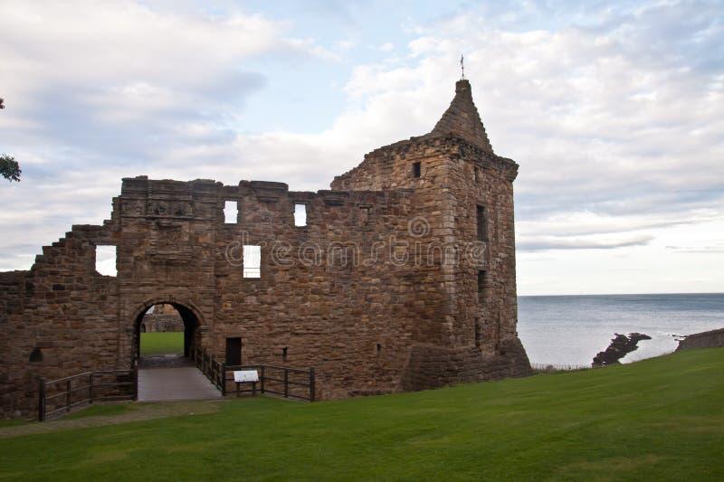 St Andrews kasztel, Szkocja zdjęcia royalty free