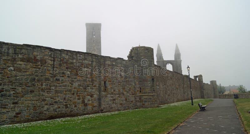 St Andrews kathedraal stock afbeeldingen