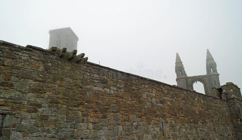 St Andrews kathedraal royalty-vrije stock afbeeldingen