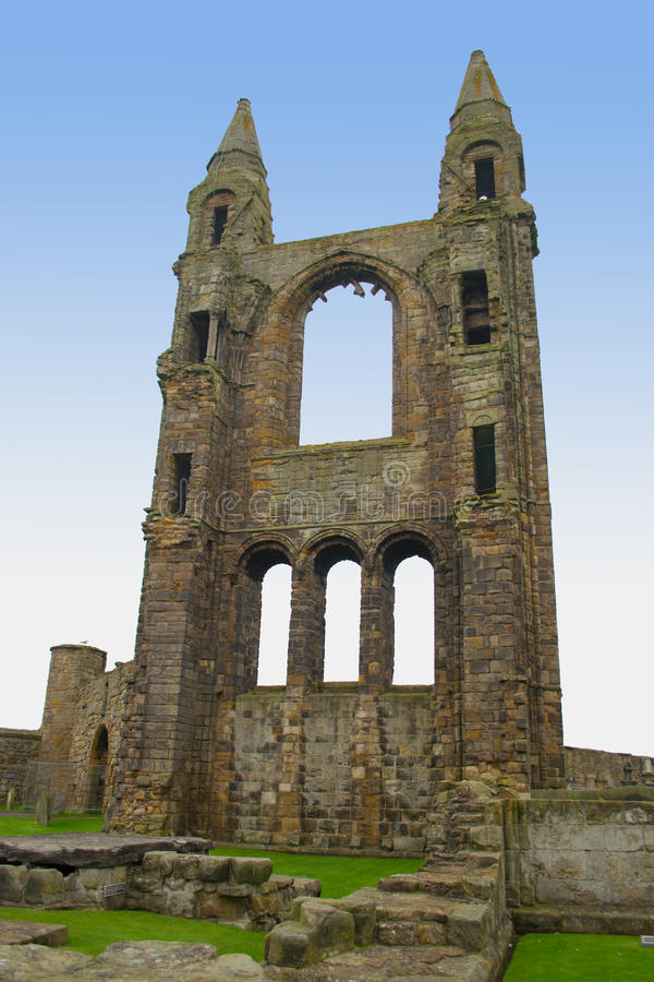 St Andrews kathedraal royalty-vrije stock foto