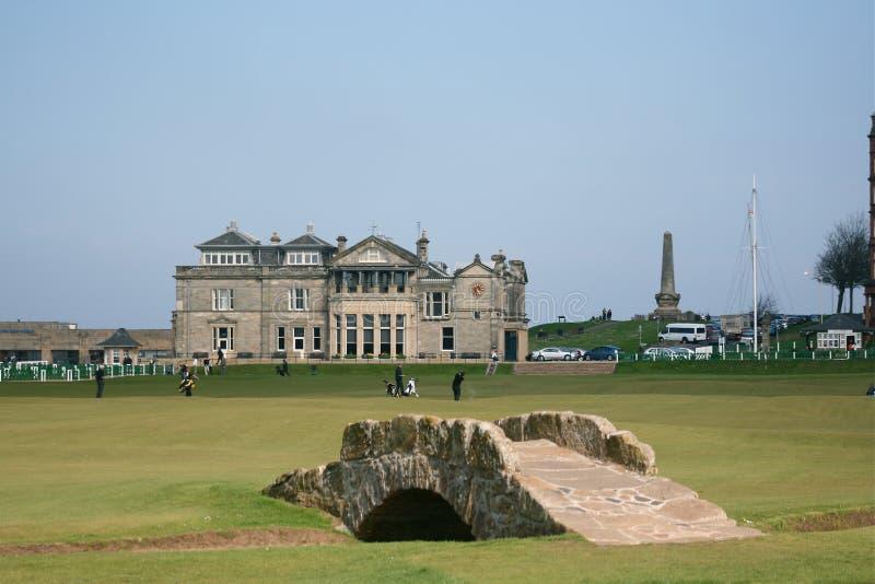 St. Andrews links royalty-vrije stock foto