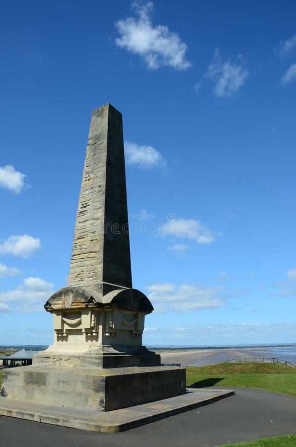 St Andrews Obelisk immagine stock