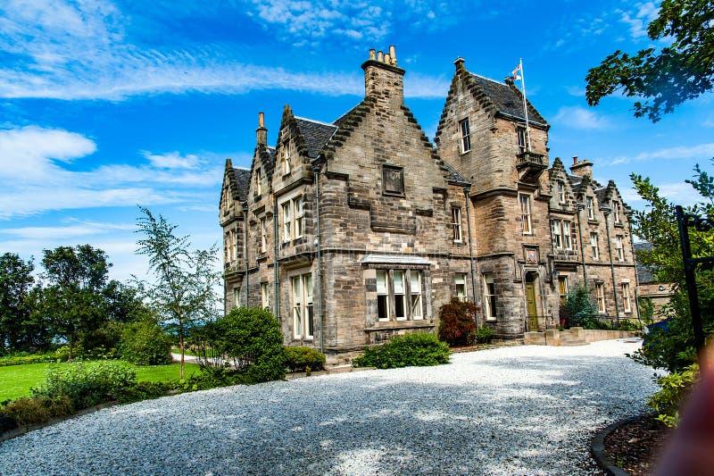 St Andrews, Scozia, Regno Unito circa sepotember 2016 Casa tipica fotografia stock libera da diritti