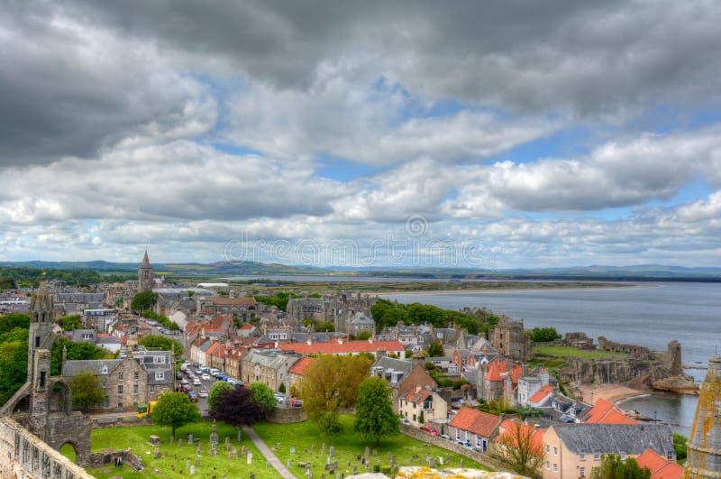 St Andrews Skottland royaltyfri fotografi