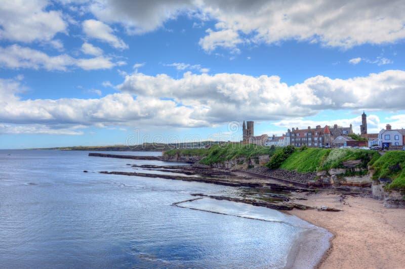 St Andrews Skottland arkivfoton