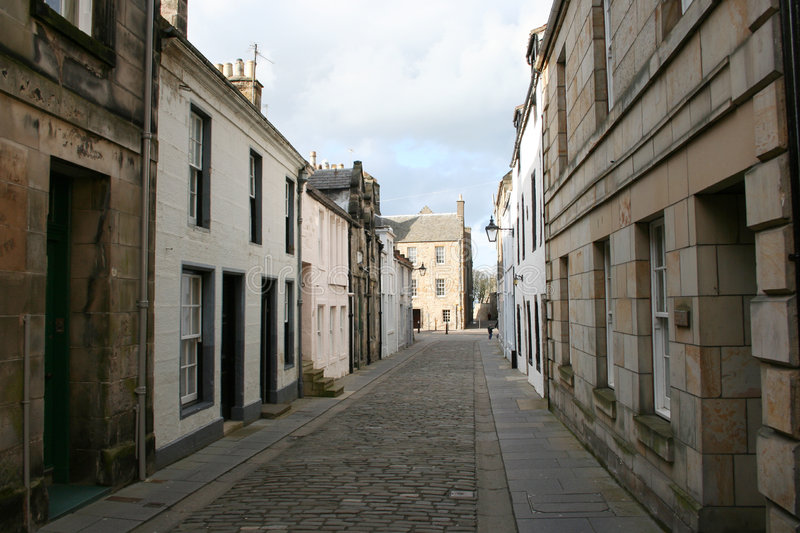 St Andrews street stock photography