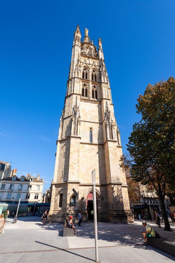 St Andrey Bordeaux Cathedral, Frankrijk stock fotografie