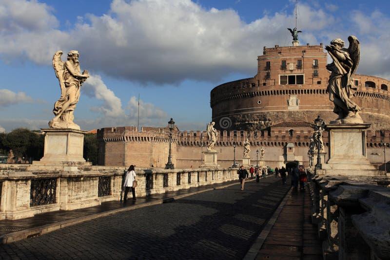 St. Angel Castle, Rome stock photo