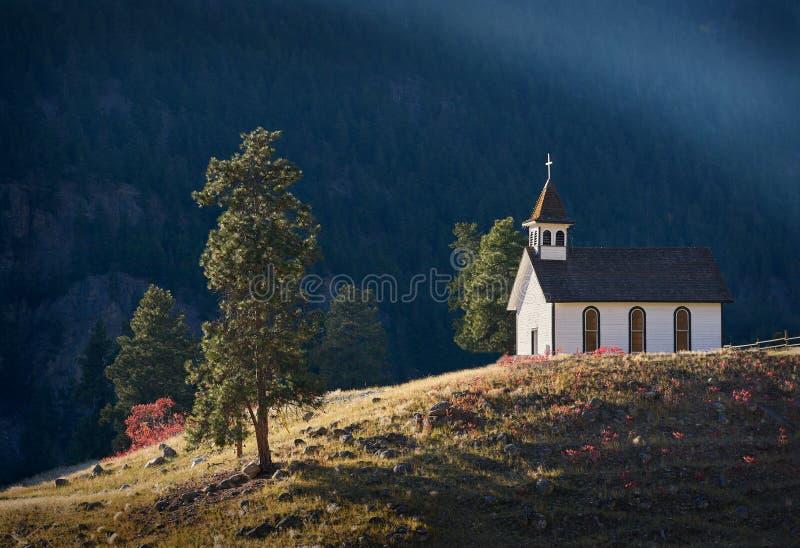 St. Ann Church, Similkameen-Tal stockbild