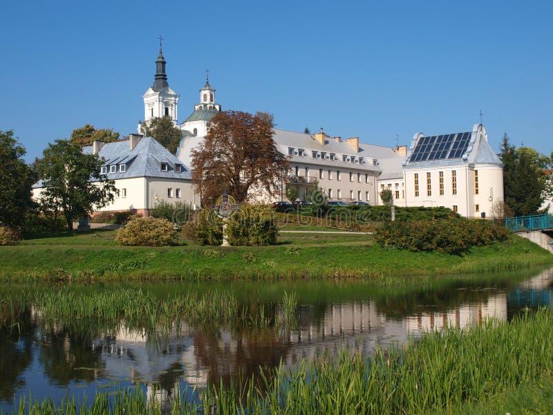 St Ann`s Basilica, Kodeń, Poland royalty free stock photos