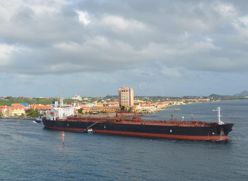 St Anna Bay en Willemstad, Curaçao fotos de archivo libres de regalías