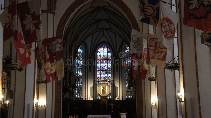 St Anna kyrklig Warszawa Polen fotografering för bildbyråer