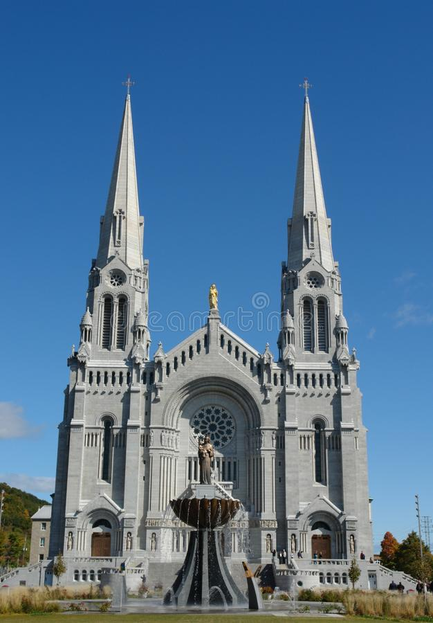 St-Anne-Beaupre Basilica, Quebec, Canada royalty free stock photos