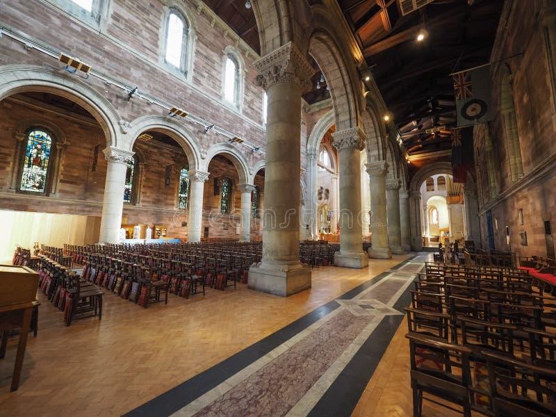 St Anne Cathedral em Belfast imagem de stock royalty free