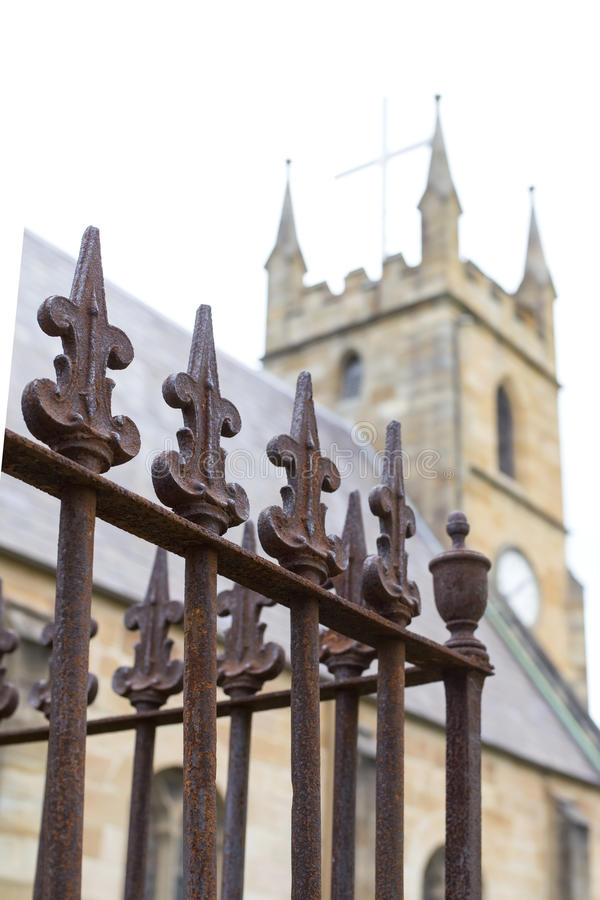 St Anne Church i Ryde, Australien arkivbilder
