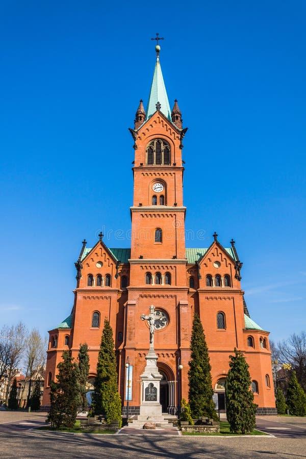 St. Anne Church in Zabrze stockfoto
