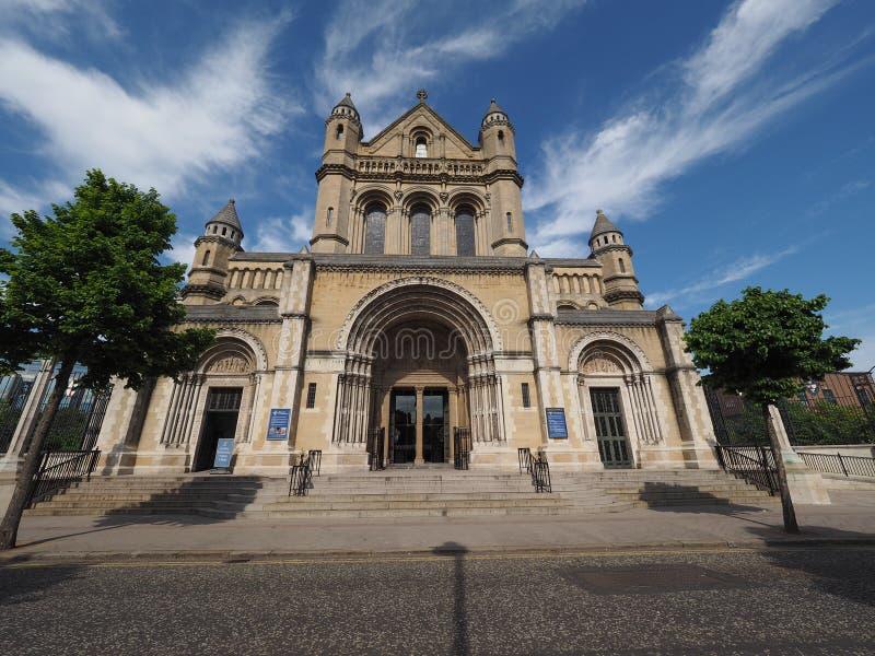 St Anne katedra w Belfast zdjęcia royalty free