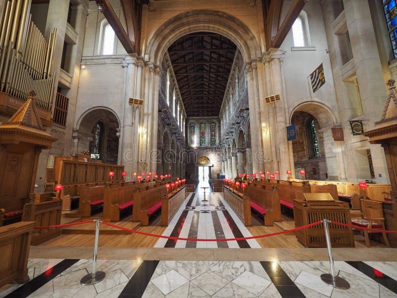 St Anne katedra w Belfast fotografia royalty free