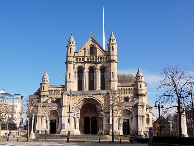 St Anne kyrka i Belfast fotografering för bildbyråer