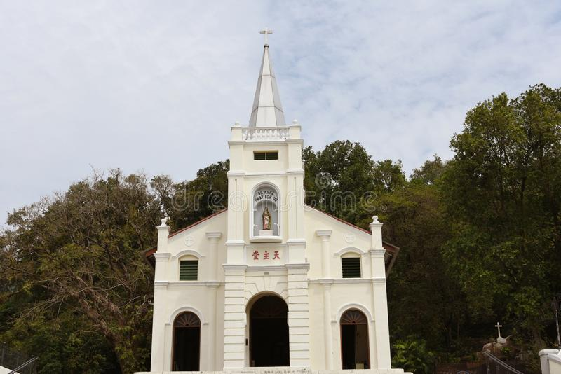 St Anne s Church. Penang, Malaysia royalty free stock images