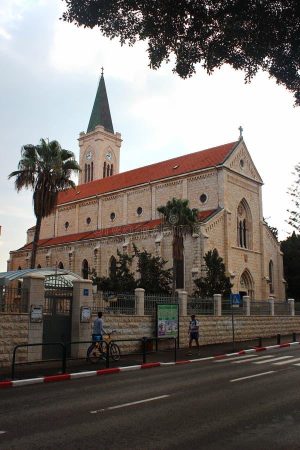 St. Anthony Catholic Parish Church in Jaffa, Tel Aviv, Israel lizenzfreies stockbild