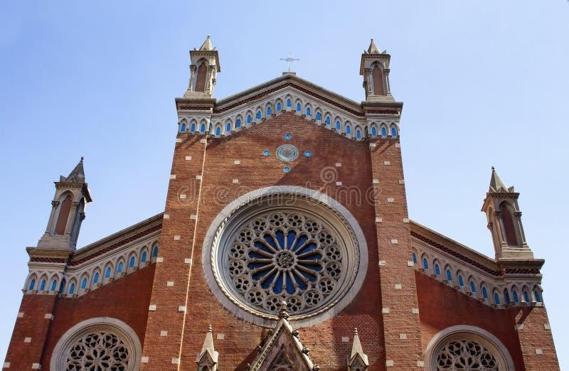 St Anthony de la iglesia de Padua fotografía de archivo libre de regalías