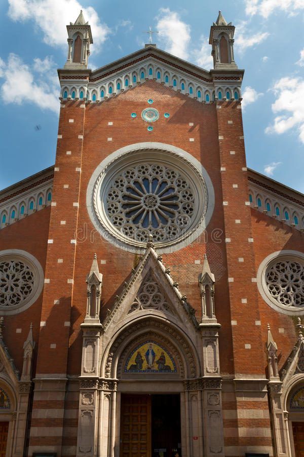 St. Anthony of Padua Church. From Istanbul royalty free stock photos