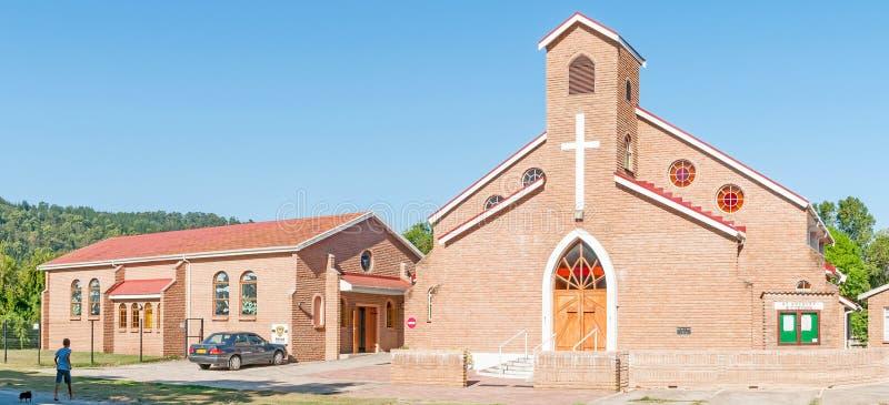 St Anthony Roman Catholic Church en Sedgefield imágenes de archivo libres de regalías