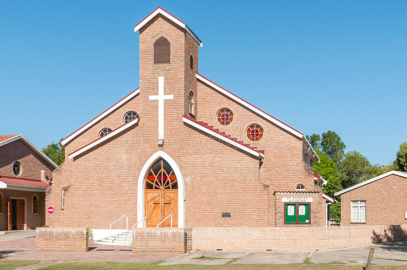 St Anthony Roman Catholic Church in Sedgefield fotografia stock libera da diritti