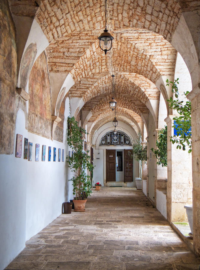 St. Antonio church. Martina Franca. Apulia. royalty free stock photography