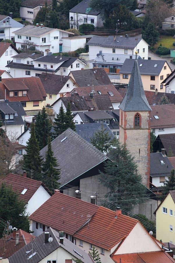 St Antonius Church en Ebersteinburg, Baden-Wurttemberg, Alemania imágenes de archivo libres de regalías