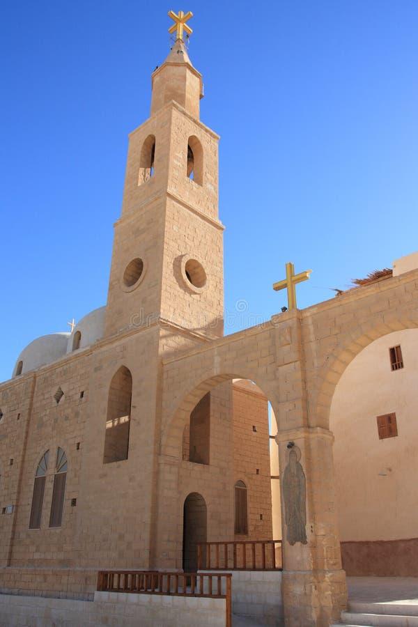St. Antony Christelijk Klooster, Egypte. royalty-vrije stock afbeeldingen