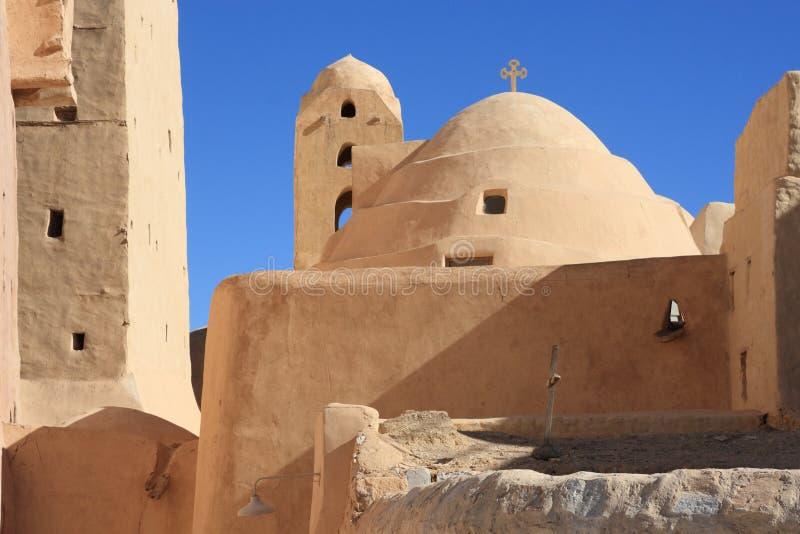 St. Antony Koptisch Klooster, Egypte. royalty-vrije stock fotografie