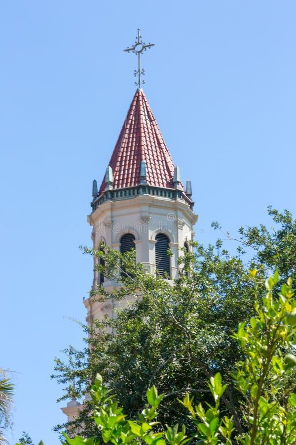St Augustin Church Steeple photos libres de droits