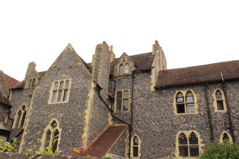 St Augustine Abbey Canterbury England royalty-vrije stock afbeelding