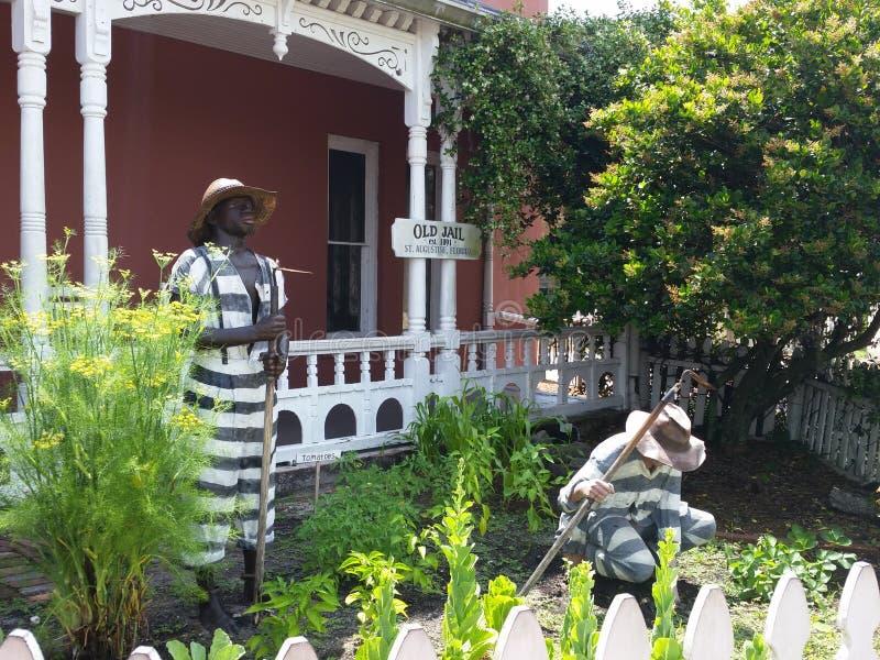 St Augustine, altes Gefängnis FLs lizenzfreie stockfotos